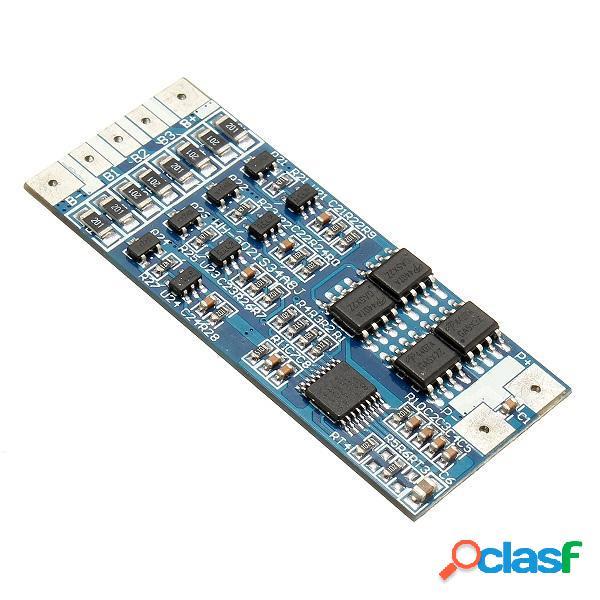 4S 14.Paneles de protección sola PCB 18650 8v 8a de litio