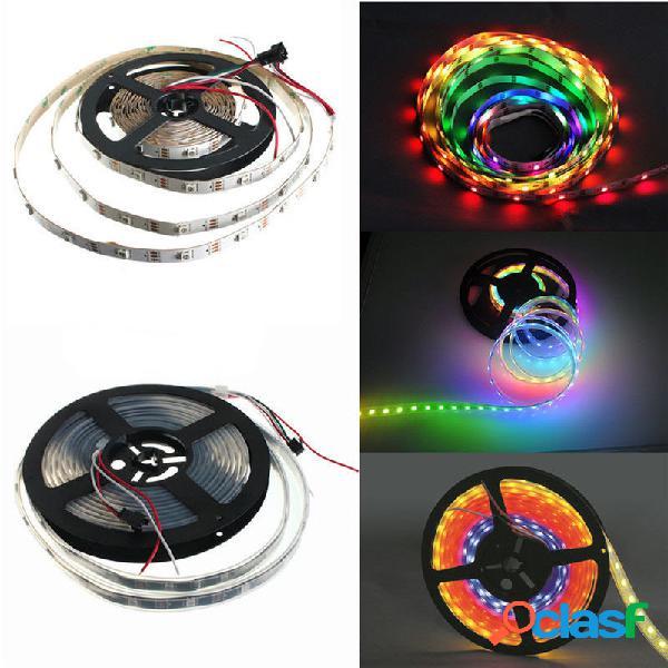 5050 RGB 240 4m LED s ws2812b IP65 a prueba de agua LED la