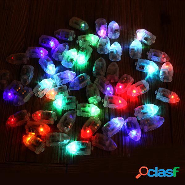 50Pcs / Lot LED Lámparas Globo Luces para la linterna de