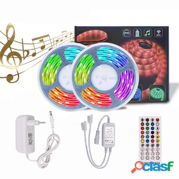 5M 10M Timer Music Control 5050 RGB Impermeable LED Strip