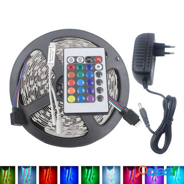 5M 3528 24W RGB 300 No impermeable LED Luz de Tira Flexible