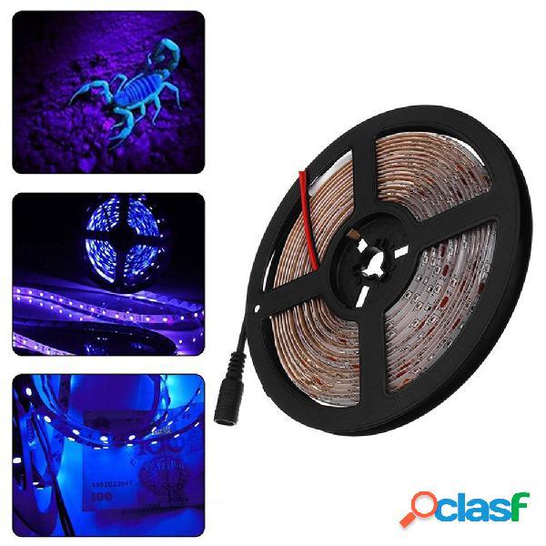 5M 36W 3528SMD Impermeable Flexible Purple 300 LED Tira de