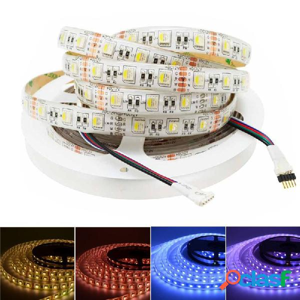 5M RGBW RGBWW 4 en 1 SMD5050 Impermeable LED Luz de tira