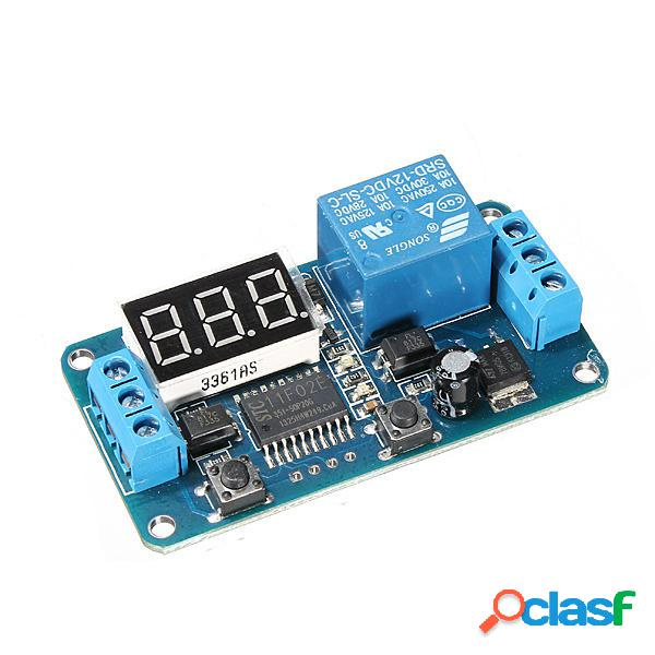 5Pcs Geekcreit® DC 12V LED Pantalla Módulo de conmutador