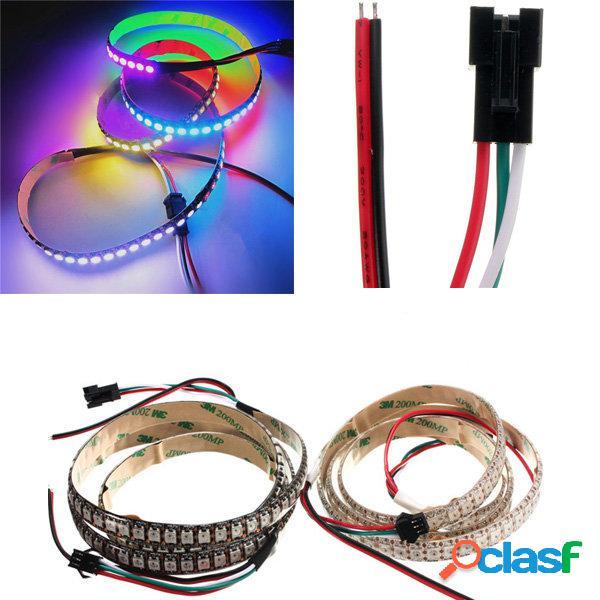 5V WS2812B 43W 144 SMD 5050 RGB LED Strip Impermeable IP65
