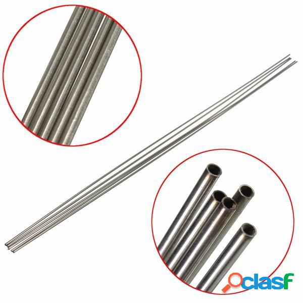 5pcs 304 capilar de acero inoxidable de 2 mm de diámetro