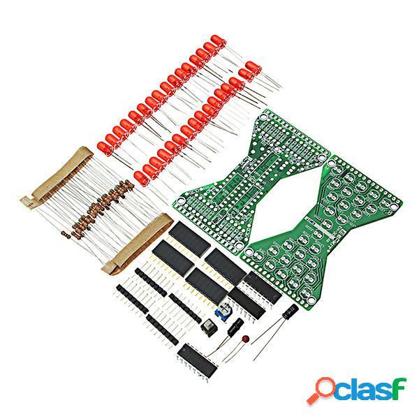 5pcs DIY reloj de arena electrónico kit Soldadura práctica