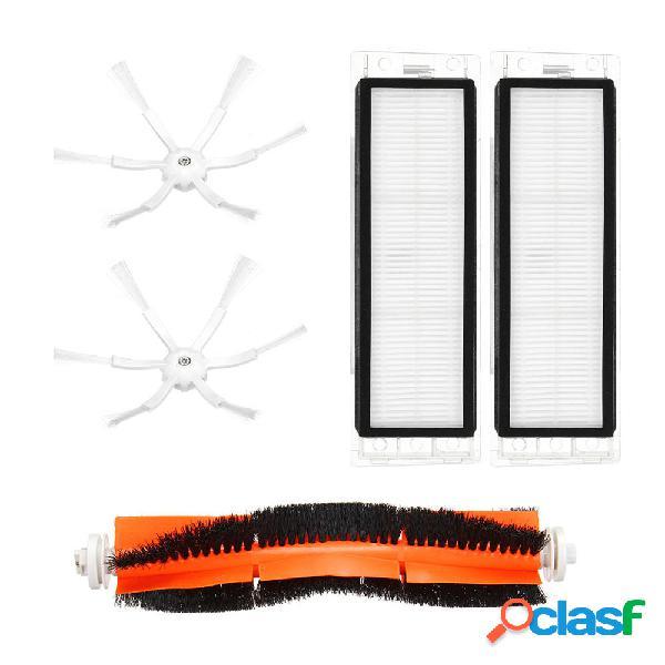 5pcs Main Cepillo con filtro HEPA y lado Cepillo para robot