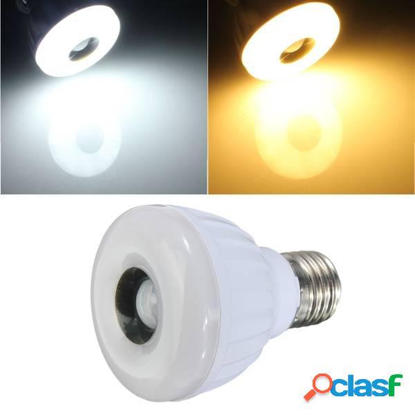 5w e27 25 LED 3528 lámpara de luz smd pir detector de