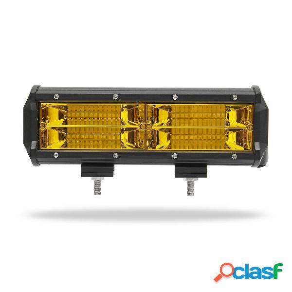 7 Pulgadas 8D LED Barras de Luz de Trabajo Niebla Lámpara