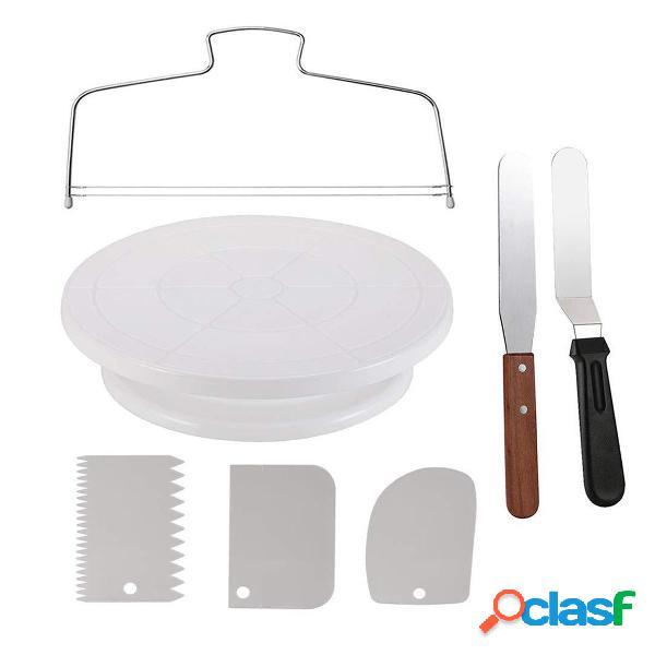 7Pcs / Set Juego de mesa de decoración de pasteles