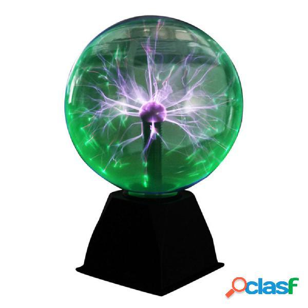 8 pulgadas de luz verde Bola de plasma Mesa electrostática