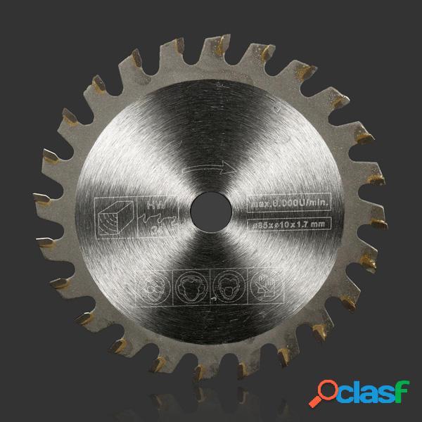 85mm 24 dientes de sierra TCT circular discos de ruedas