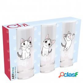ABYstyle - CHI - Juego de 3 vasos