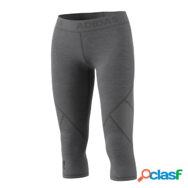ADIDAS Textil Pantalón Brezo Gris Oscuro CE3972-BREZO GRIS
