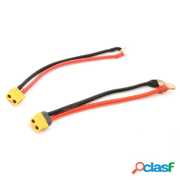 AMASS XT60 4mm 6mm Batería Cable de alimentación del