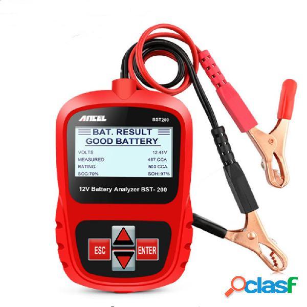 ANCEL Bst200 Coche Batería Probador Multi-idioma 12V