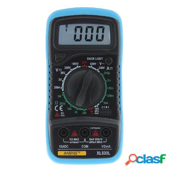 ANENG XL830L LCD Digital Multímetro Probador de