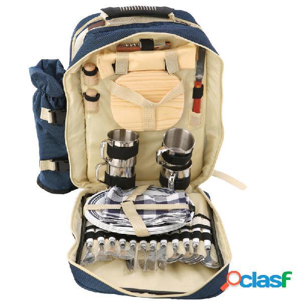 Al aire libre 4 personas picnics backapck bolsa de comida