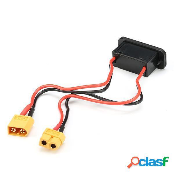 Alta interruptor de corriente de la batería lipo con la