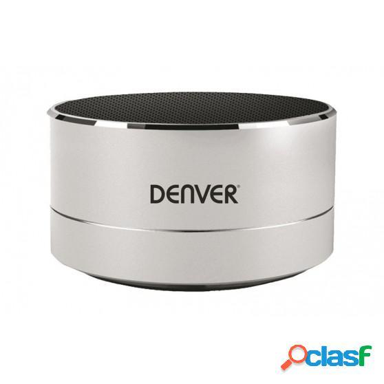 Altavoz DENVER BTS32 Bluetooth Plata