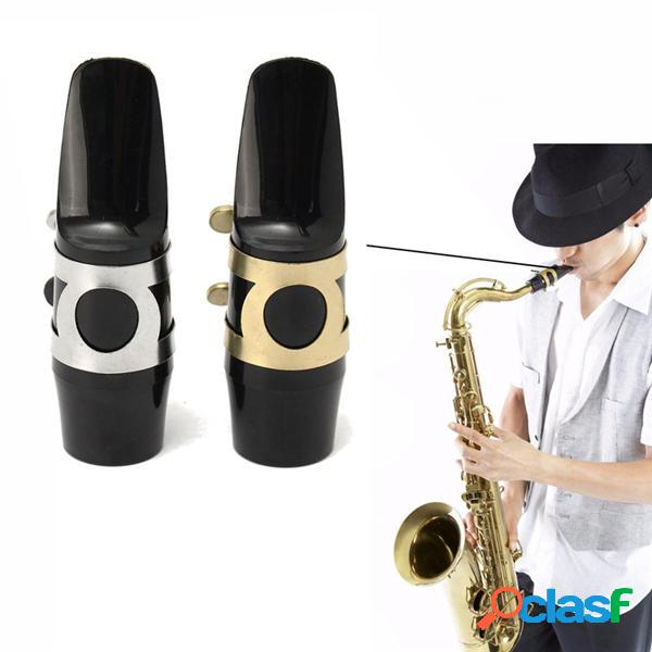 Alto boquilla saxo saxofón con la hebilla del casquillo de