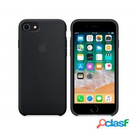 Apple Funda Silicona Negra para iPhone 8/7