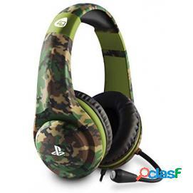 Auricular Gaming 4Gamers PRO4-70 Camo Verde Militar