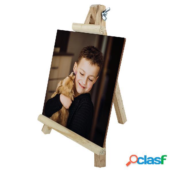 Azulejo Personalizado 15 x 15 con caballete de madera