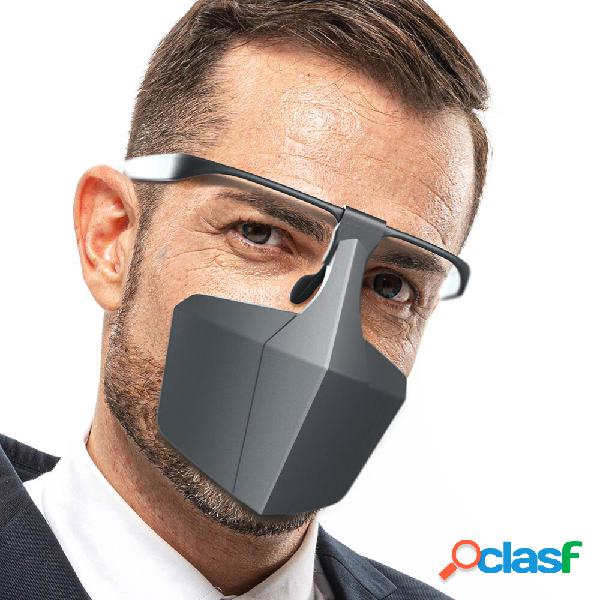 BIKIGHT Boca de plástico Mascara Sello antivaho Cara