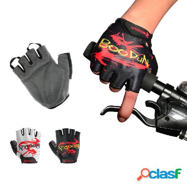 BOODUN Half-Finger Riding Glove Men And Mujer Summer al aire