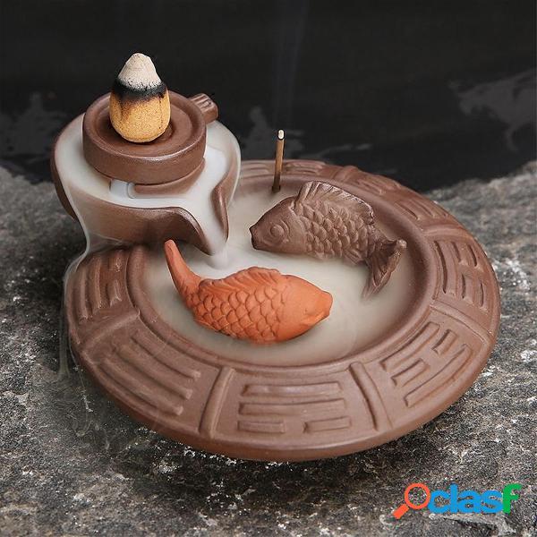 Backflow de cerámica Incienso Quemador de cono Incienso