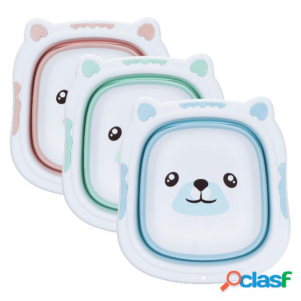 Bañera para bebé portátil Lavabo plegable Lavabo plegable