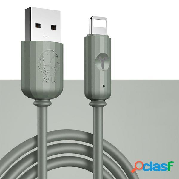 Bakeey 2.4A Cable de datos de carga rápida micro USB para