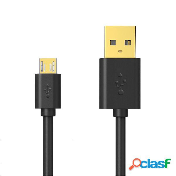 Bakeey 3A Cable de datos de carga rápida micro USB para