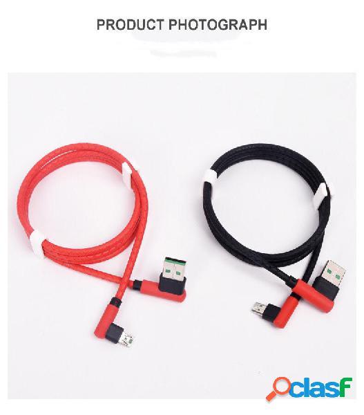 Bakeey 4A Type C Cable de datos de carga rápida de doble