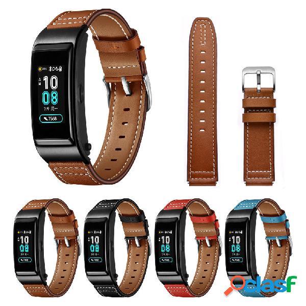 Bakeey Piel Genuina Correa para reloj Smart Watch Banda para