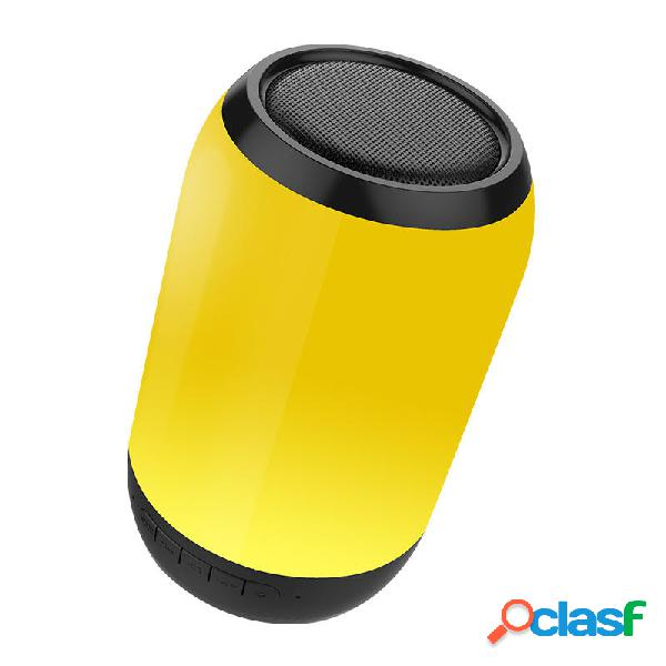 Bakeey Portable Colorful luz LED Altavoz bluetooth