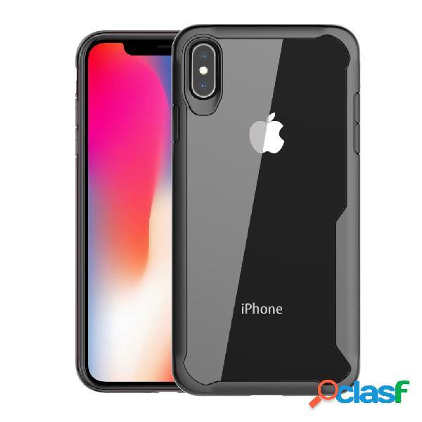 Bakeey Protección Caso para iPhone XS Anti Huella digital