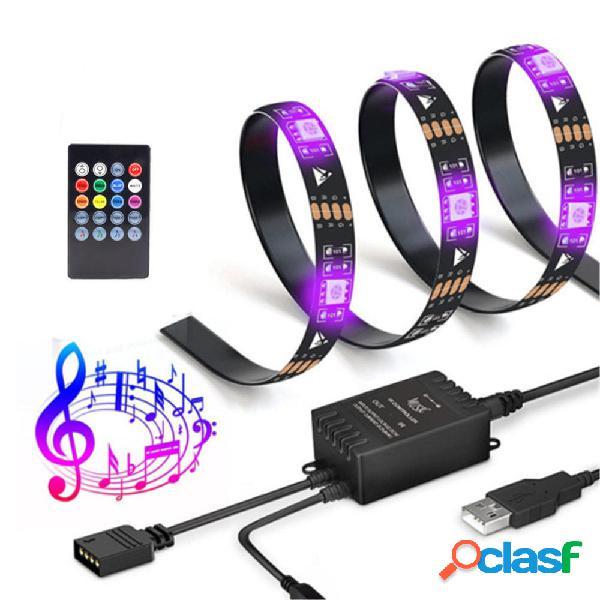 Bakeey USB Music Sensor Control inteligente TV Fondo luz LED