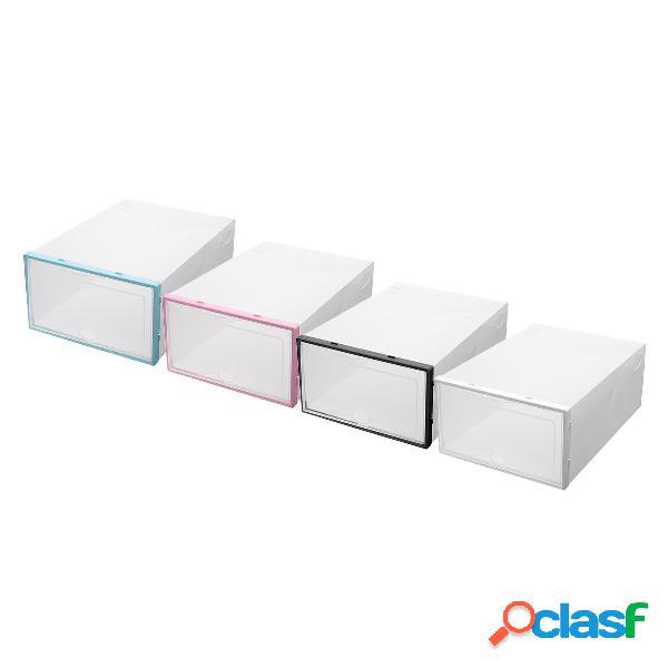 Bandejas portaobjetos de plástico para almacenamiento de