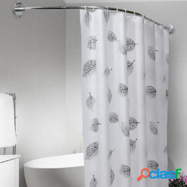 Barra de cortina de ducha de acero inoxidable ajustable