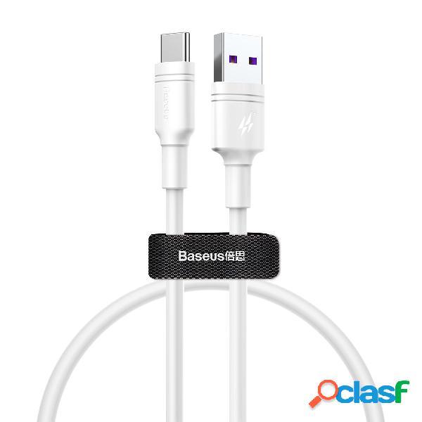 Baseus 5A QC3.0 Sobrecarga USB Type C Cable de datos para