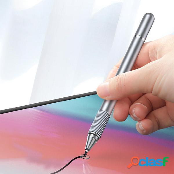 Baseus Lápiz capacitivo de pantalla táctil 2 en 1, dibujo