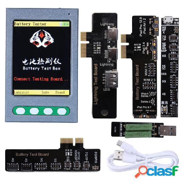 Batería Tester Batería Checker Detector Test Caja para