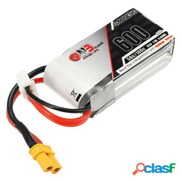 Batería de Lipo GAONENG GNB 7.4V 600mAh 2S 50C Enchufe XT30