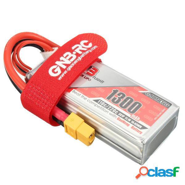 Batería de Lipo Gaoneng GNB 11.1V 1300mAh 3S 110/220C