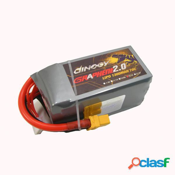 Batería de Lipo de Energía Gigante Dinogy Graphene 2.0