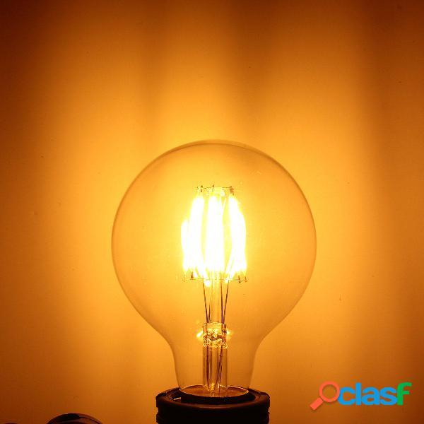 Blanco caliente 6w mazorca 600lumens vendimia lámpara de la