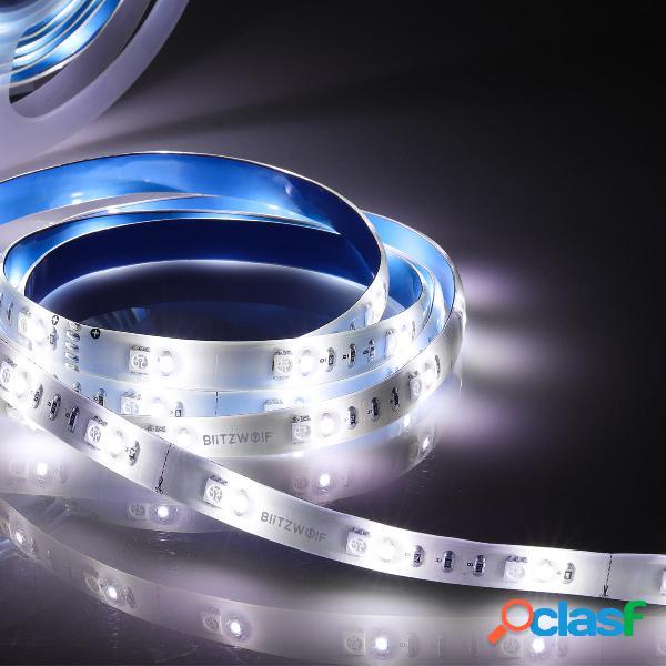 BlitzWolf® 2PCS 1M RGBW LED Extensión de luz de tira Plus